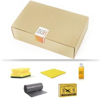 Kit de limpieza Garbí en caja