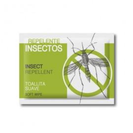 Toallita repelente de mosquitos