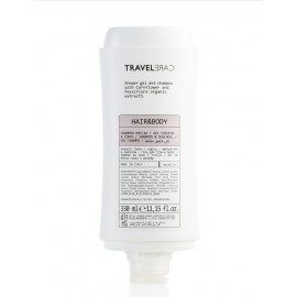Dispensador gel & champú TRAVELCARE (330 ml)