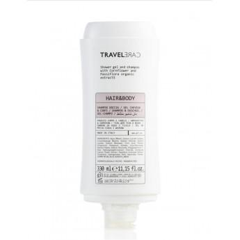 Dispensador gel & champú TRAVELCARE (330 ml)