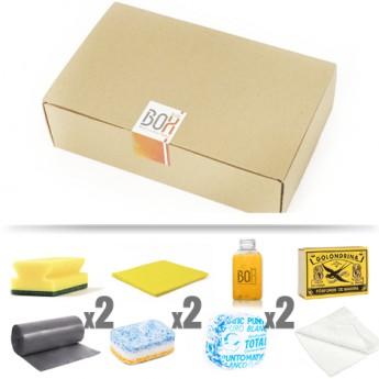 kit de limpieza Siroco en caja