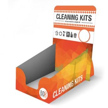 Expositor para venta de kits