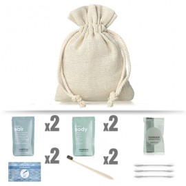 Kit de baño Eume TRAVELCARE