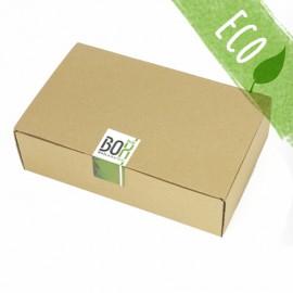 Caja con adhesivo genérico