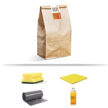 Kit de bienvenida Terral en bolsa de papel Kraft