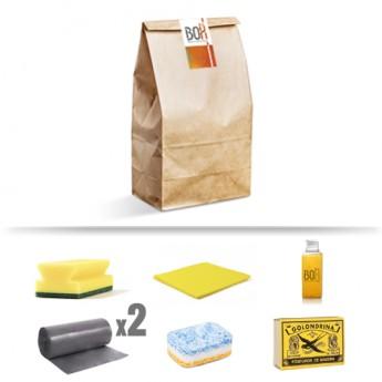 Kit de limpieza calima en bolsa