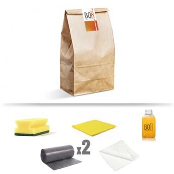Kit de limpieza bora en bolsa