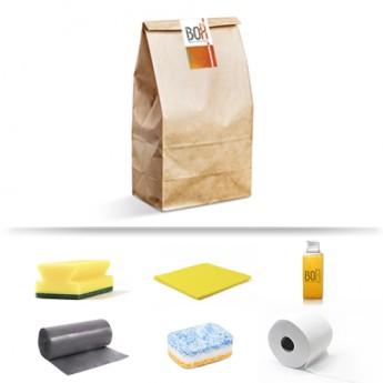 Kit de bienvenida Eliseos en bolsa de papel Kraft