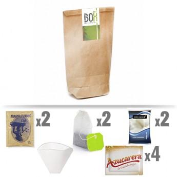 kit acogida cafe y te Puigmal