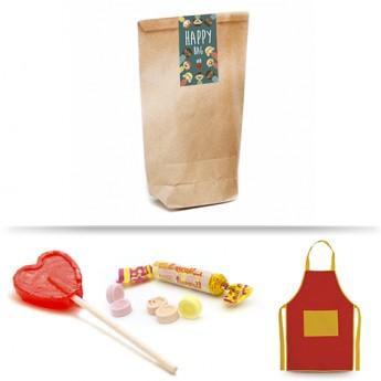 Kit regalos para niños Delantal