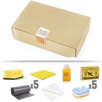 kit de bienvenida Gregal en caja